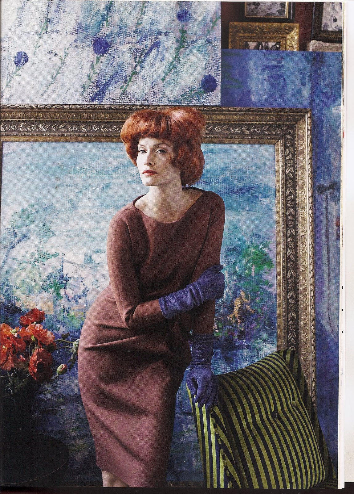 Amber Valetta by Steven Meisel l Vogue US May 2010