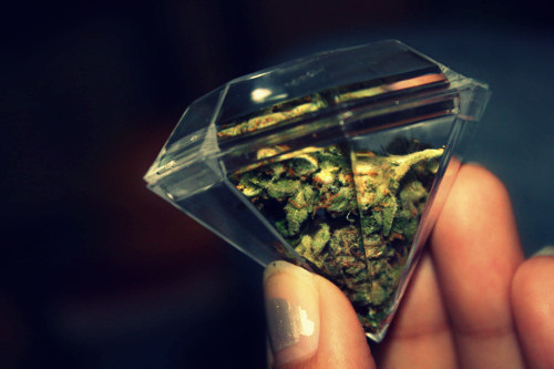 smorges:  Weed in that diamond