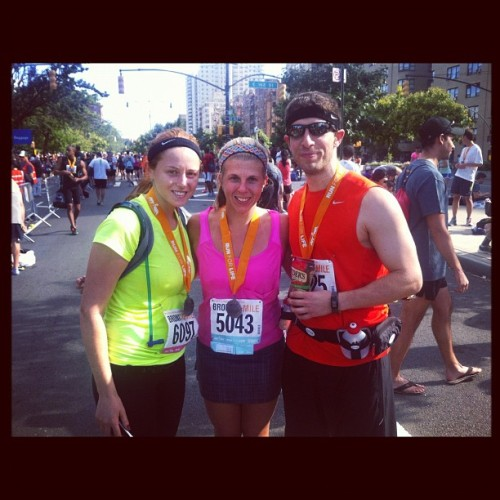 18 miles at a 9:29 with @rskamel @motivateyourass! So very happy.  (Taken with Instagram)