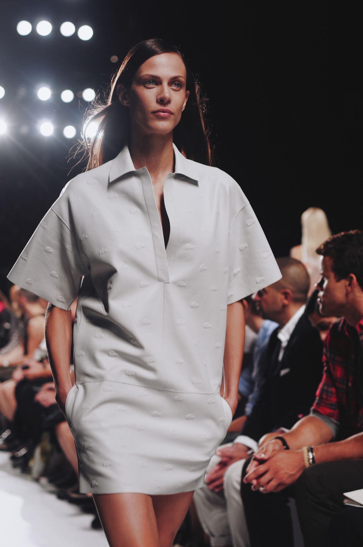 Lacoste runway show @ the Lincoln Center