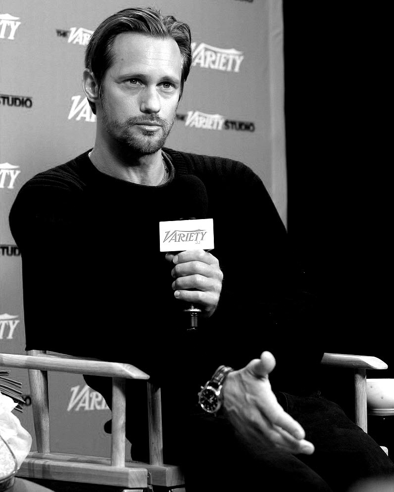 santress:  Alexander Skarsgard - Variety Studios (September 8, 2012, TIFF). *Originals courtesy of Just Jared