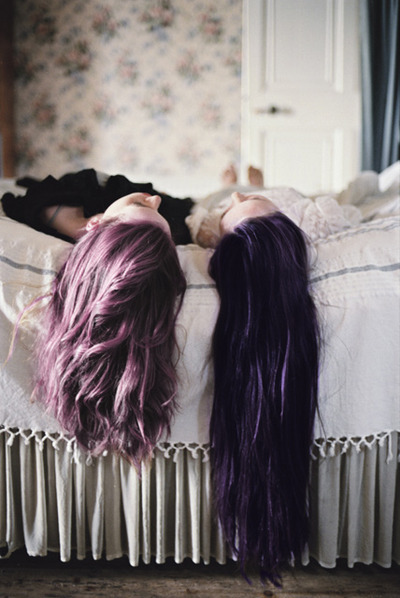 or even the one on the right.  I just don't want to have to lighten my hair.: (