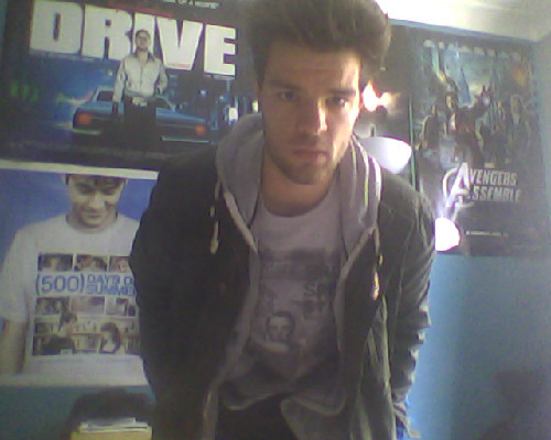 So hungover. Food is needed.  (Bruce tour top)