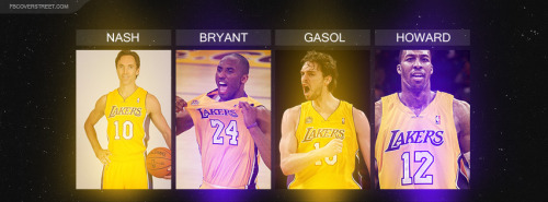 Steve Nash Kobe Bryant Pau Gasol Dwight Howard
