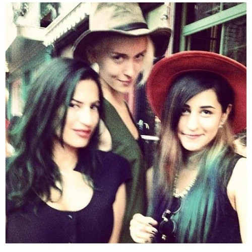Loving these bitches! @painclk @wirthjana #nyfw #fashionbreak #friendtime (Taken with Instagram)