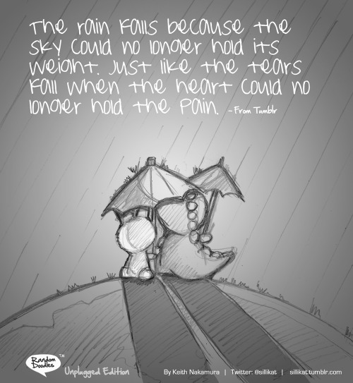 Random Doodle: (Unplugged Edition) Rainfall…