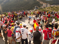 benrobertsphoto:  Stage 20 Mountain Finish, Vuelta a Espana.