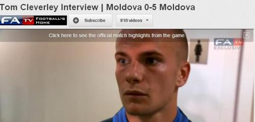 thefootielover:  Moldova 0-5 Moldova  England finally get a good score and this happens.  Whoever wrote this must have been drunk.