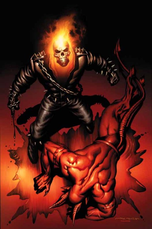 artverso:  Mark Texeira - Ghost Rider