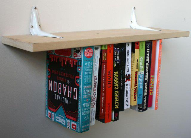 Inverted Bookshelf http://www.facebook.com/OFFmagazine and http://offmag.blogspot.com.es/ and http://pinterest.com/offmagazine/ and https://twitter.com/offmagacine