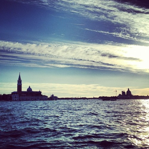 Almost time to say goodbye #Venice  (Scattata con Instagram presso Vaporetto Linea 1)
