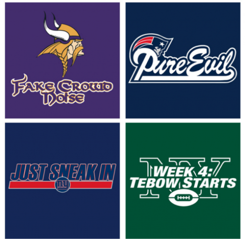 If NFL logos were honest….