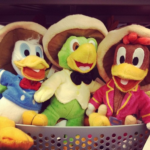 Three Caballeros! (Taken with Instagram at Disney Store)