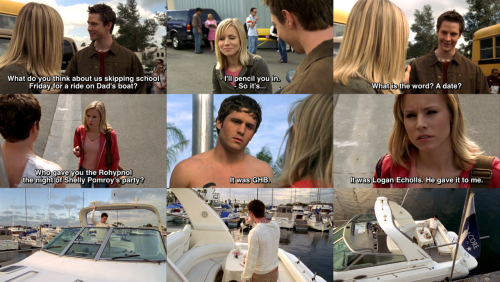 dancetothesoundoftheworld:  The date that never was.Veronica Mars, S01E20: M.A.D.