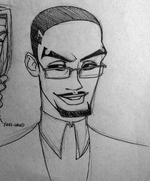 I drew a Rayon again. Now with glasses.  hhhh I am not very productive when I'm sick ;_;