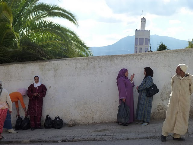 Travel archives: Chefchaouen, Morocco, 2009.