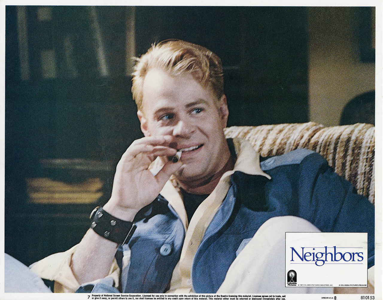 Neighbors, US lobby card. 1981