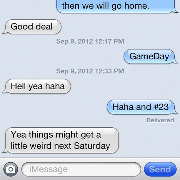 #textingwithwebb #gameday #tennessee  (Taken with Instagram)