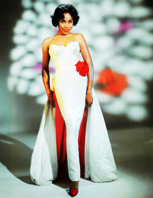 "Diahann Carroll c. 1960  ""I learned quickly that almost any time a third world face became prominent on TV, we became responsible for the whole minority community."""