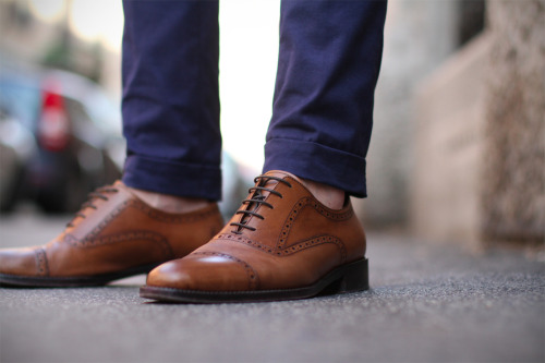 Brown shoes in everyday facebook.com/GentlemanF