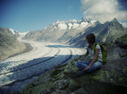 5-ghosts:  Aletschgletscher by rhea.nina on Flickr.  Innocent power