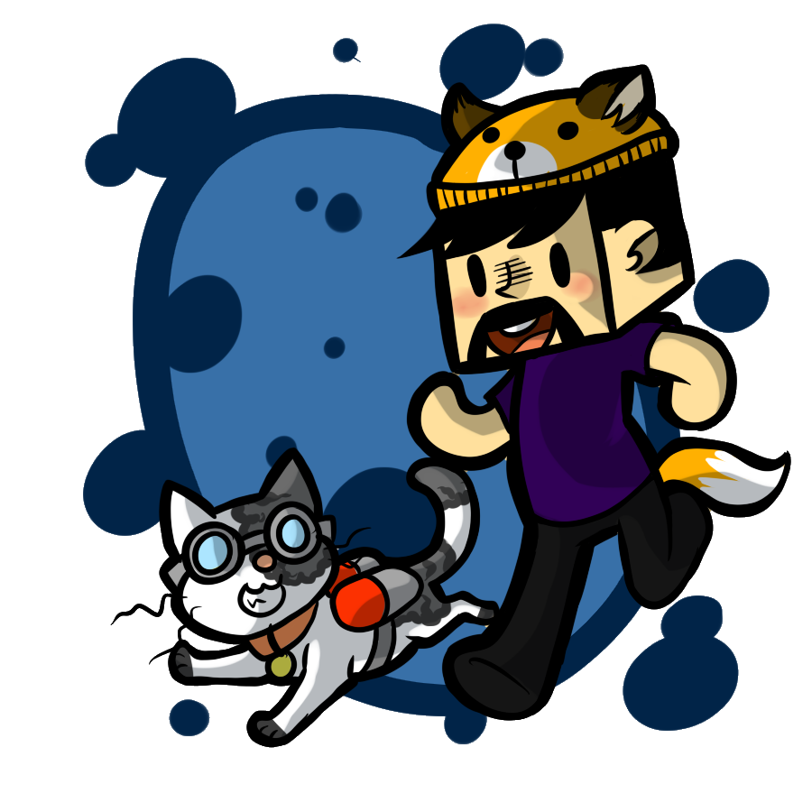 Here is Steve the scuba cat from homiecraft askj i hope he uses it omg , i will die if he does ,i'll cry for days