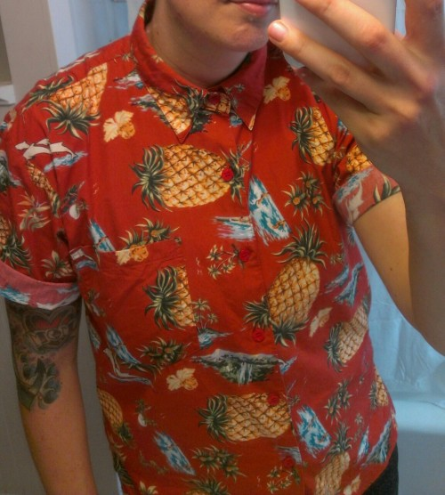 Hawaiian shirt, 5.99 - Goodwill