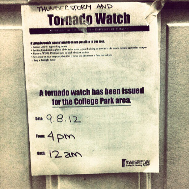 Oh yeah. There was a tornado yesterday.  (Taken with Instagram)