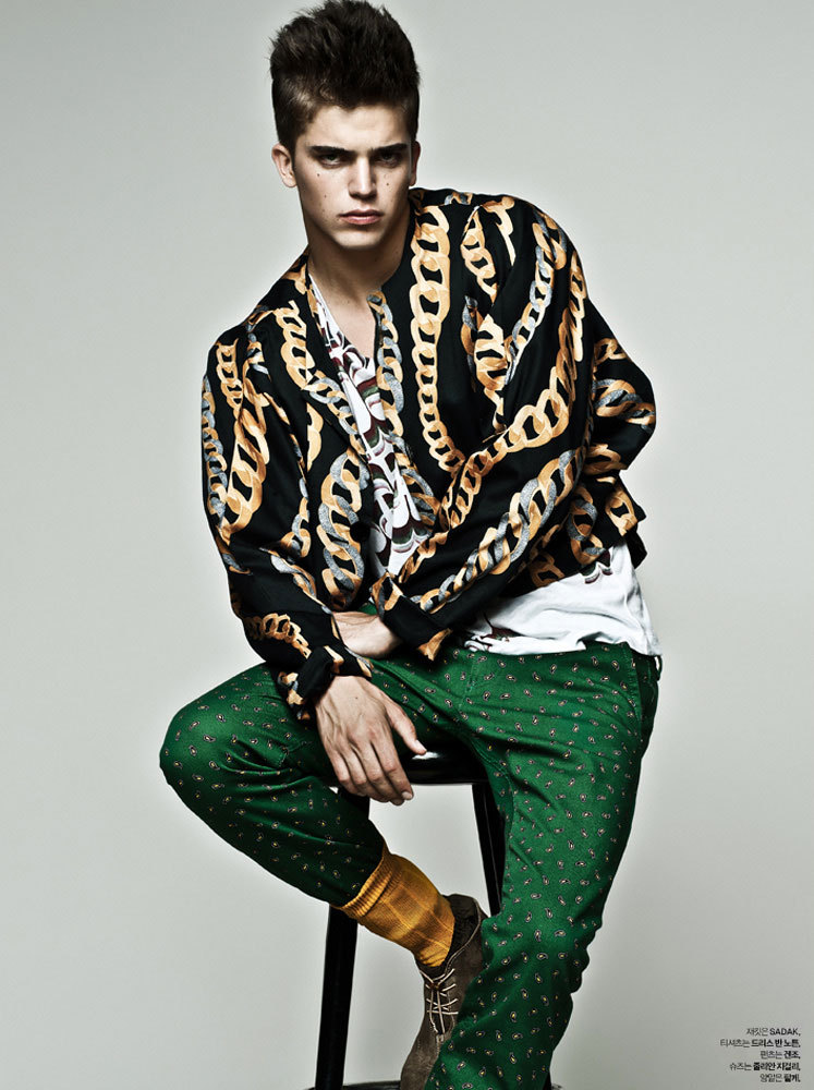 Riveri Viiperi by Arcin Sagdic for L'Officiel Hommes Korea