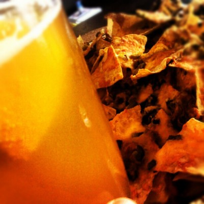 Beer & Nachos……. FOOTBALL IS BACK!!!! (Taken with Instagram)