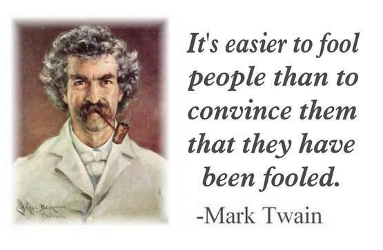 Couldn't agree more Mr. Twain.