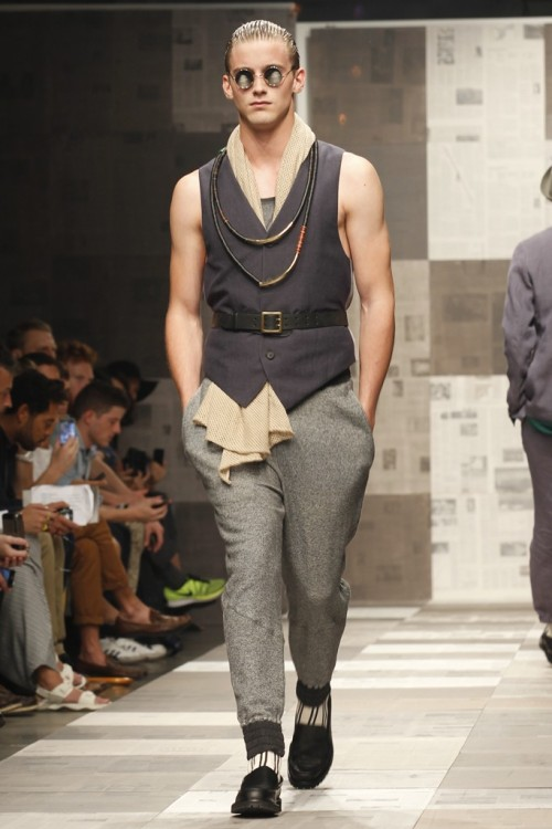 Robert Geller Men's RTW Spring 2013 - NYFW. (Photo by Jimi Celeste)