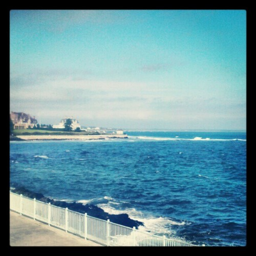 #Newport #Cliffwalk (Taken with Instagram at Rosecliff Mansion)