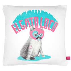 El gato loco for the @ohh_deer pillow fight competition