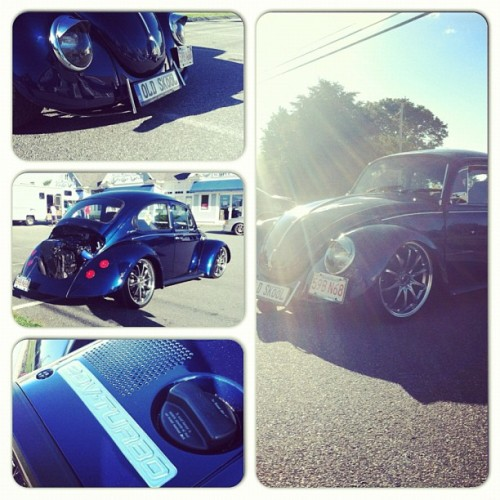 Coolest vw bug ever. It's static, and has a 20v Turbo motor from an Audi (Taken with Instagram)