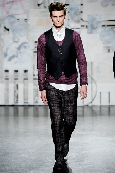 mensfashionworld:  Loden Dager Fall Winter 2012
