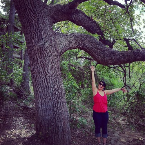 I'm a #tree. @kimmiesomesugar #silly  (Taken with Instagram at Dinosaur Valley State Park)