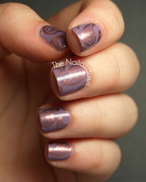 The Nailasaurus: Bronze Stamping