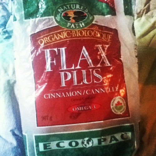 Best cereal #cinnamon #flax #cereal #breakfast #organic #whatveganseat (Taken with Instagram)