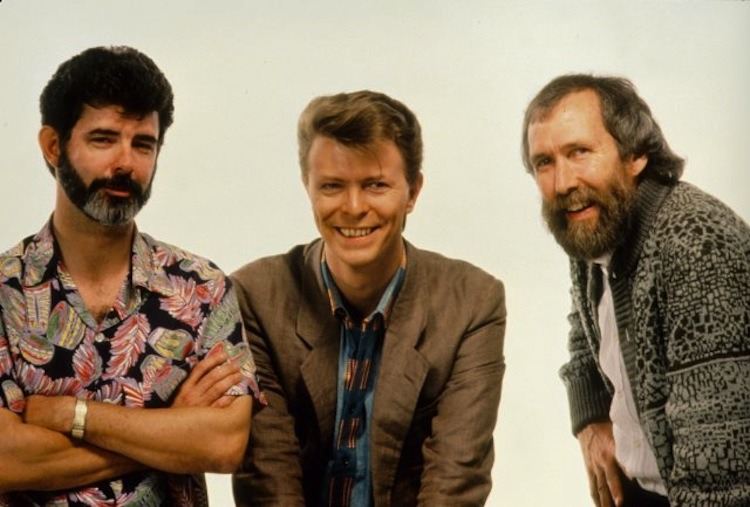 George Lucas, David Bowie & Jim Henson