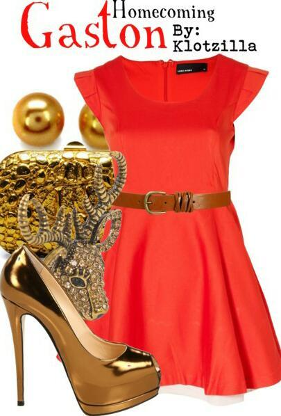 Gaston: Homecoming :)! I love Gaston and I thought this homecoming ensemble really screamed his name :D!