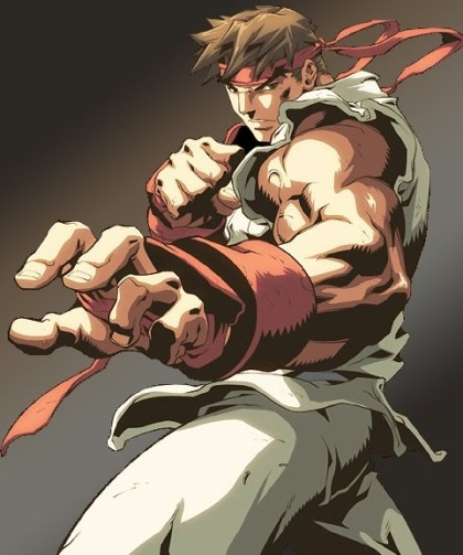 10 Street Fighter Warriors I would love to see in the Octagon Ryu The protagonist of the Street Fighter series, Ryu travels the world, looking for stronger opponents. He has victories over muay thai champion Sagat, his old training partner and friend Ken Masters and the wrestler Alex. Ryu's fighting style is traditional martial arts rooted in the murderous art of of Ansatuken, which could match the stand-up game of any fighter, yet he may be vulnerable on the ground. Ryu also possesses the Satsui no Hadou, which would increase his strength and make him almost impervious to pain, making it harder for opponents to submit him. While his Hadoken fireball would be banned from the octagon, his Shoryuken, uppercut and Hurricane kick would devastate opponents. Possible opponents: Lyoto Machida Anderson Silva Joe Lauzon