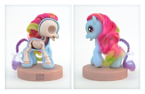 martinekenblog:  (via My Little Pony – Sliced and Diced | Plastic and Plush)