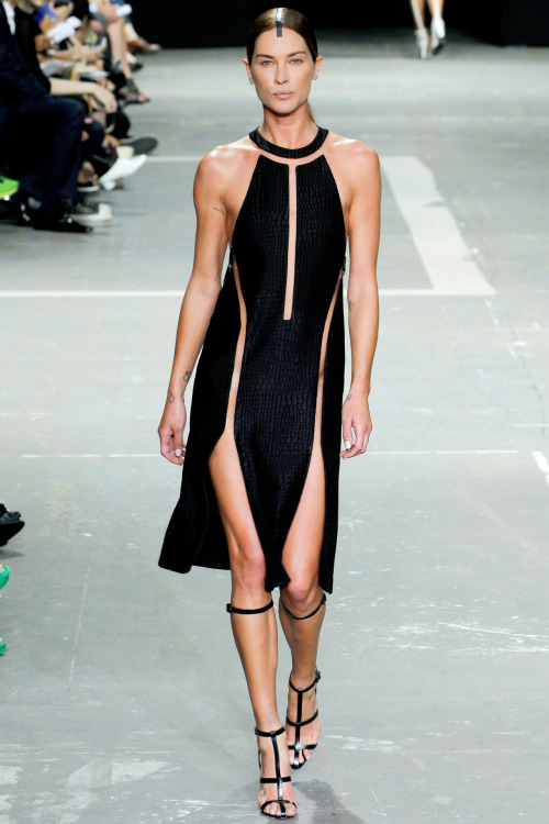 vogue:  Alexander Wang Spring 2013Photo: Monica Feudi/GoRunway.comGo to Vogue.com for the full collection and review.  The future of sexy.