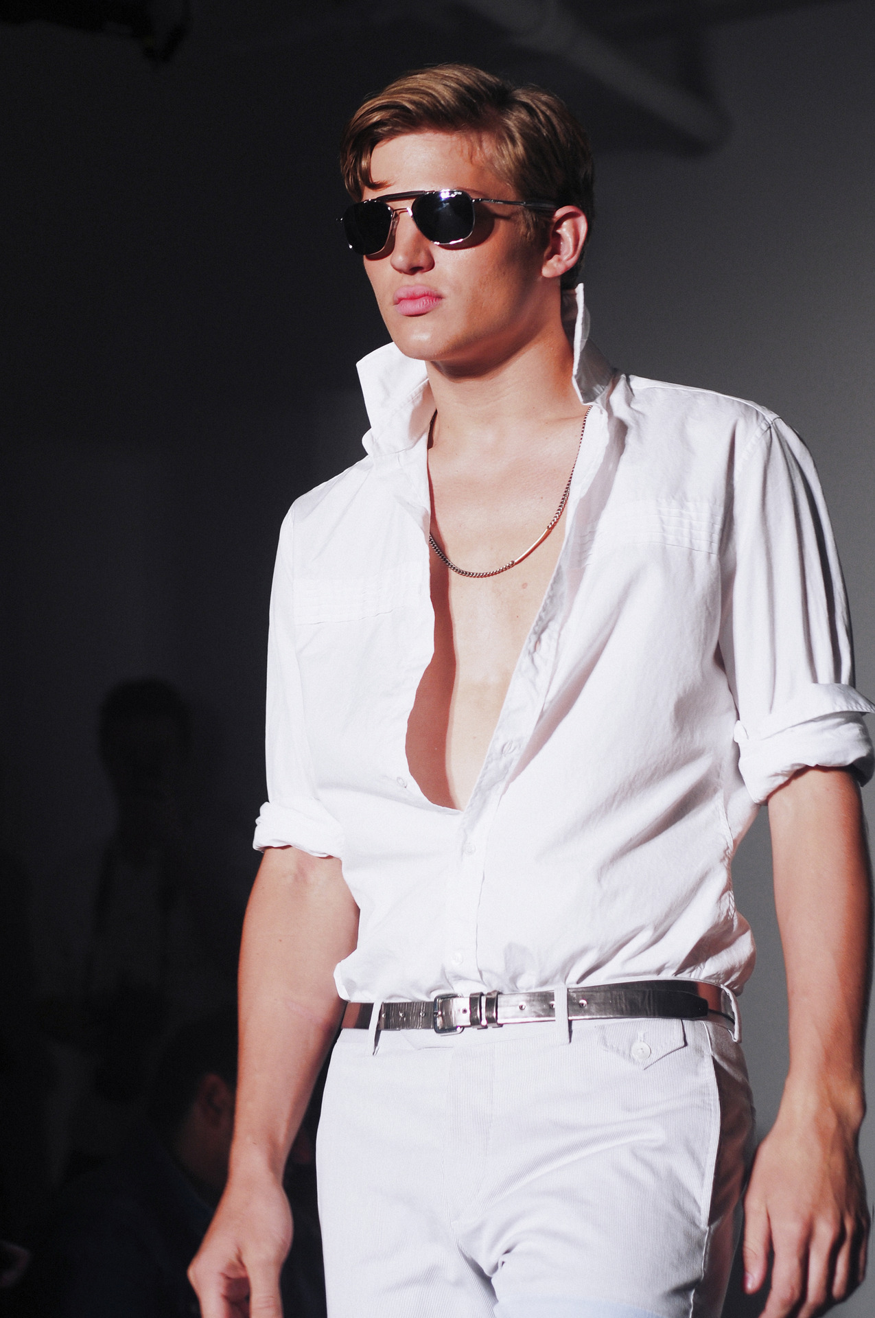 Michael Bastian runway show at Milk Studios