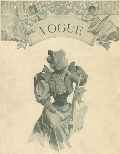 First ever Vogue cover.