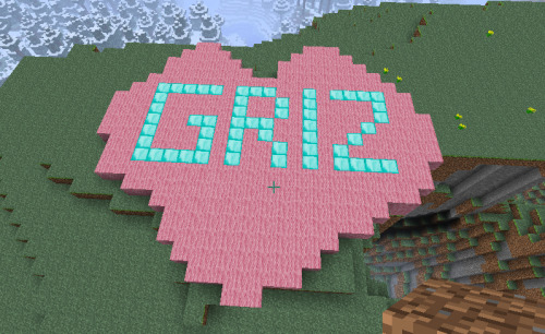 SOMEONE IN MY MINECRAFT WORLD LOVES ME!   come watch us have fun!