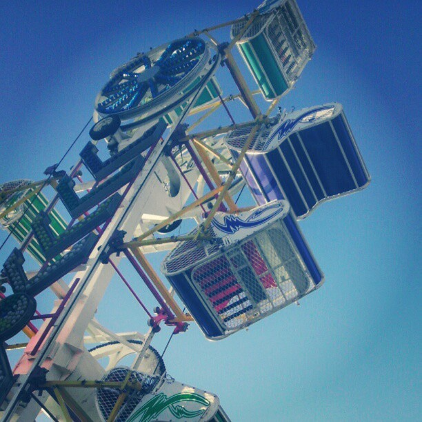 This will always be the best ride at the fair. #thezipper #kansasstatefair  (Taken with Instagram)