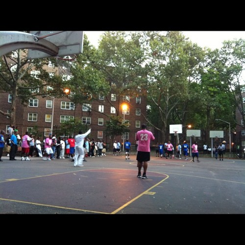 Weekly sunday night bball tournament  (Taken with Instagram)