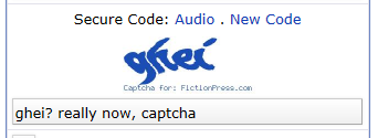 I love how captcha just pulls stuff out of its limitless ass